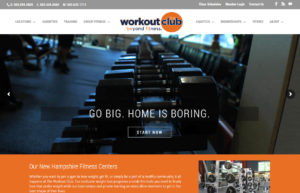 The Workout Club –  A gym with locations in Manchester, Londonderry and Salem.